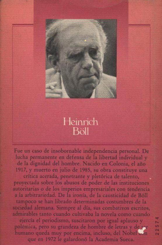 El honor perdido de Katharina Blum - Heinrich Böll a bratac.cat