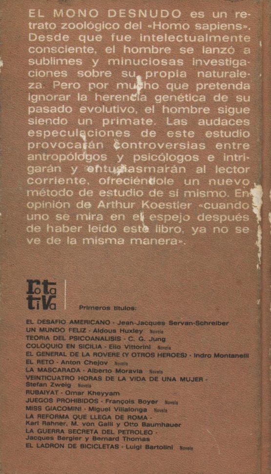 El mono desnudo - Desmond Morris