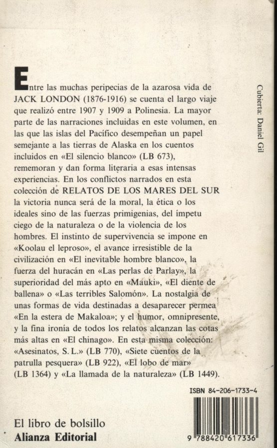 Relatos de los mares del sur - Jack London a bratac.cat