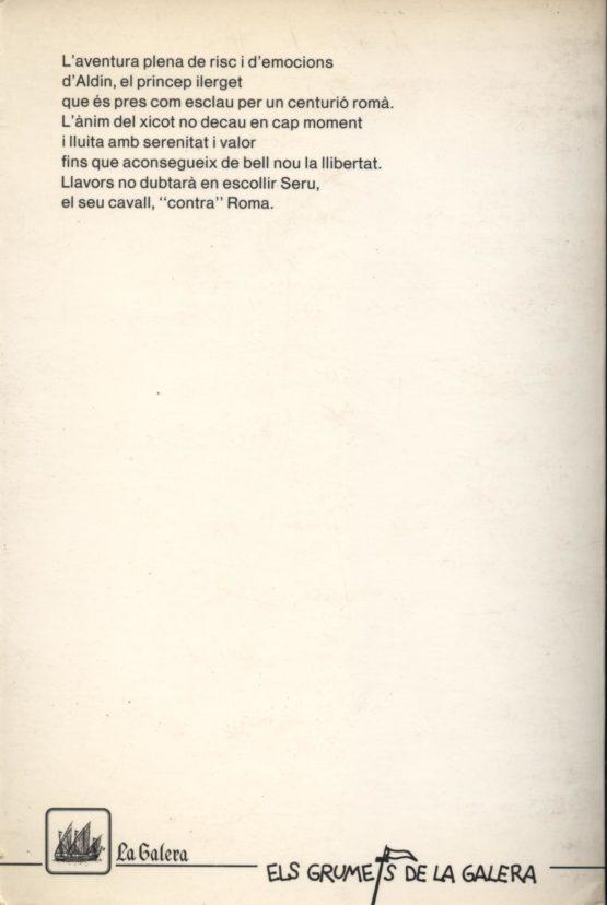 Un cavall contra Roma - Josep Vallverdú a bratac.cat