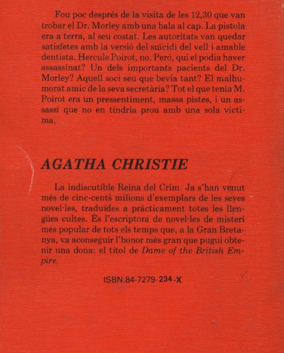 Un, dos, corda'm la sabata - Agatha Chrisite