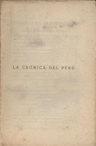 Crónica del Perú - Pedro de Cierza León