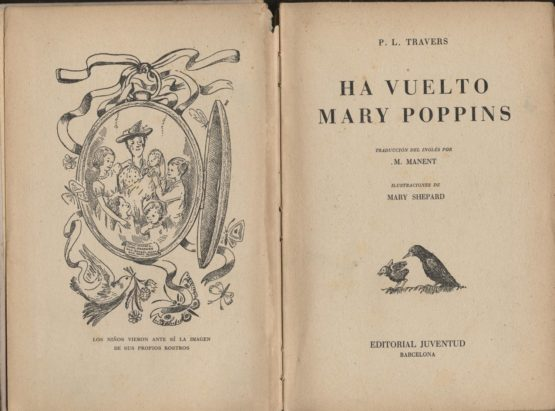 Ha vuelto Mary Poppins - P. L. Travers