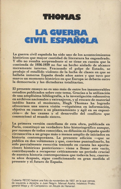 La guerra civil española 1 - Hugh Thomas a bratac.cat
