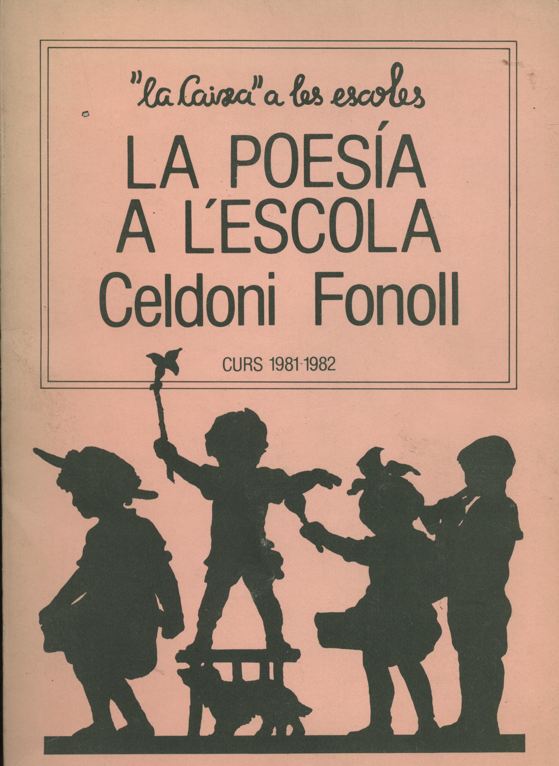 La poesia a l'escola - Celdoni Fonoll a bratac.cat