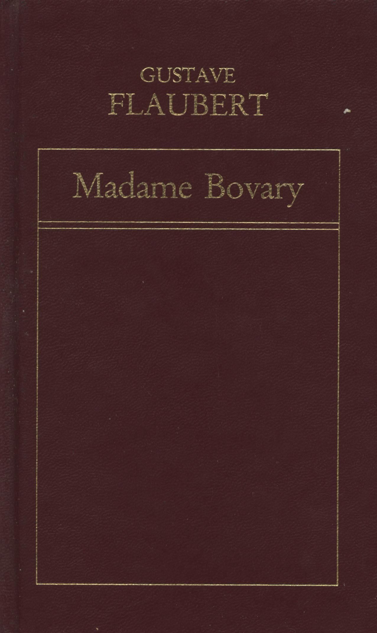 Madame Bovary - Gustave Flauvert