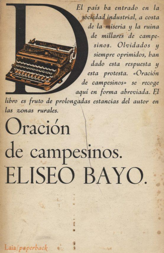 Oración de campesinos - Eliseo Bayo