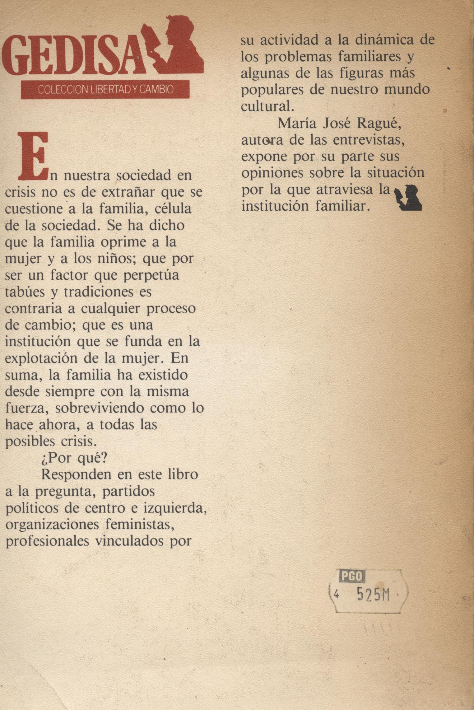 Proceso a la familia - Maria Jose Rague