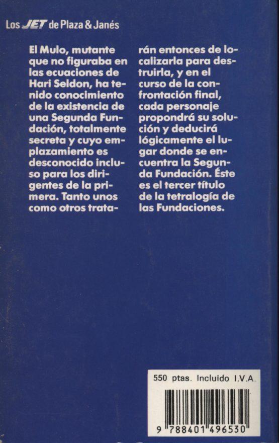 Segunda fundación - Isaac Asimov