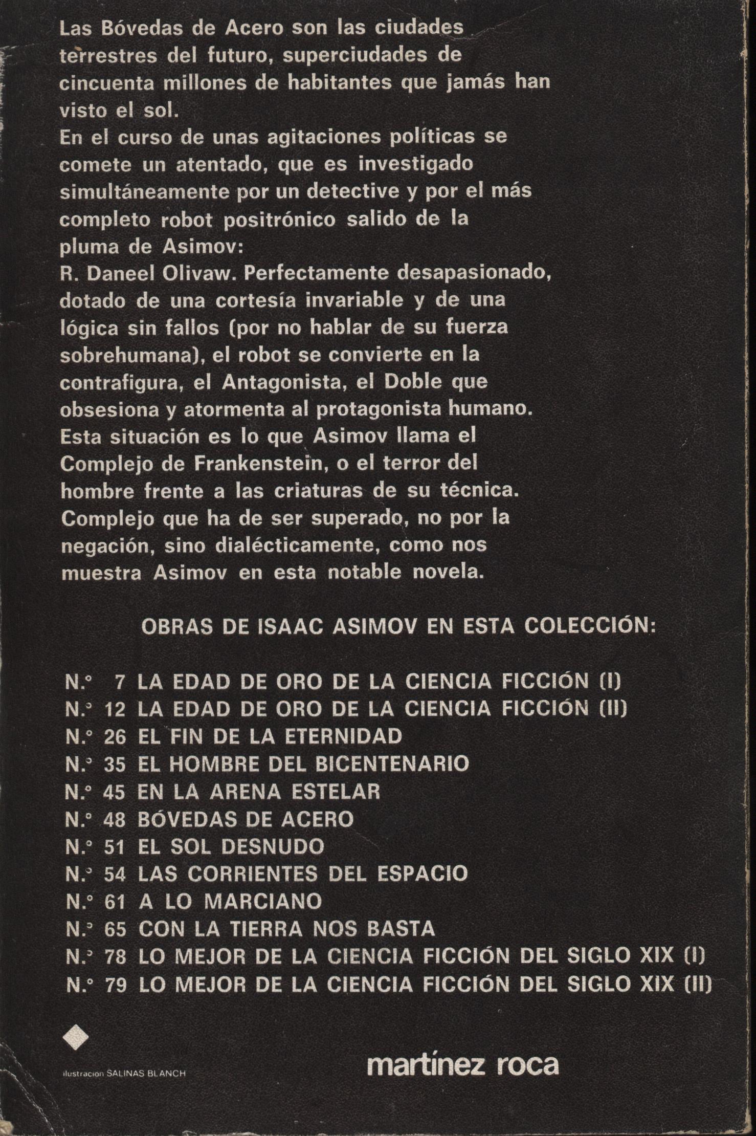 bovedas de acero - Isaac Asimov