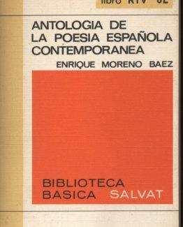 Antologia de la poesia española contemporánea en bratac.cat