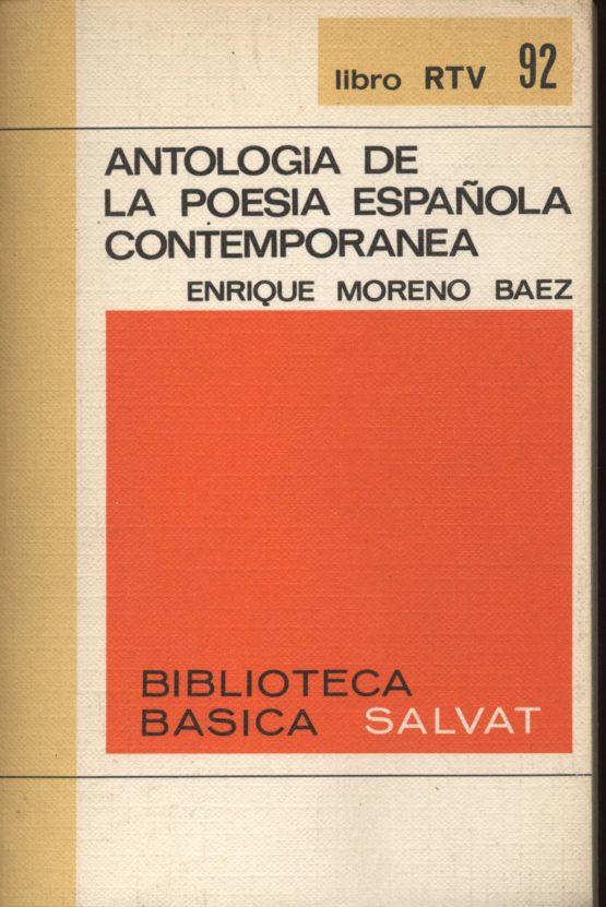 Antologia de la poesia española contemporánea