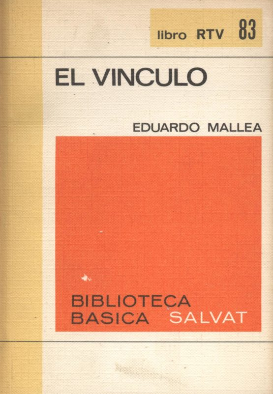 El vínculo - Eduardo Maella. Llibre d'ocasió a bratac.cat