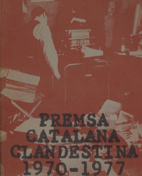 Premsa catalana clandestina