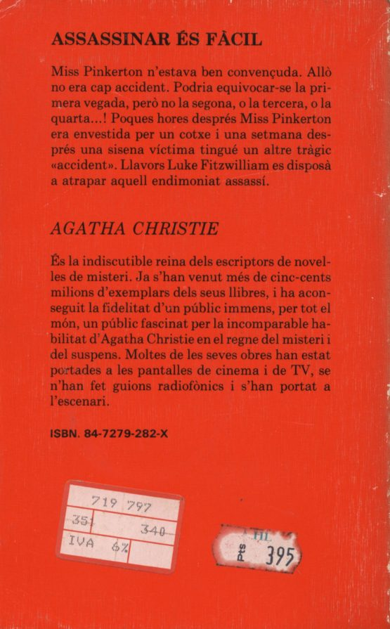 Assassinar és fàcil - Agatha Christie