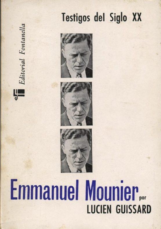 Emmanuel Mounier - Lucien Guissard en bratac.cat