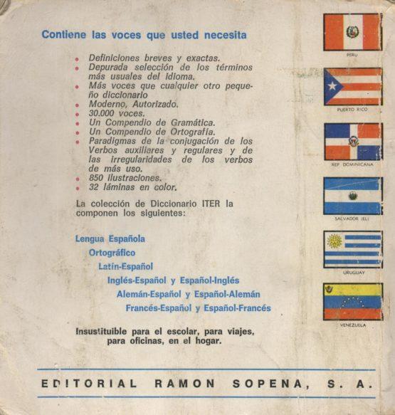 Diccionario ilustrado de la lengua española ITER-SOPENA