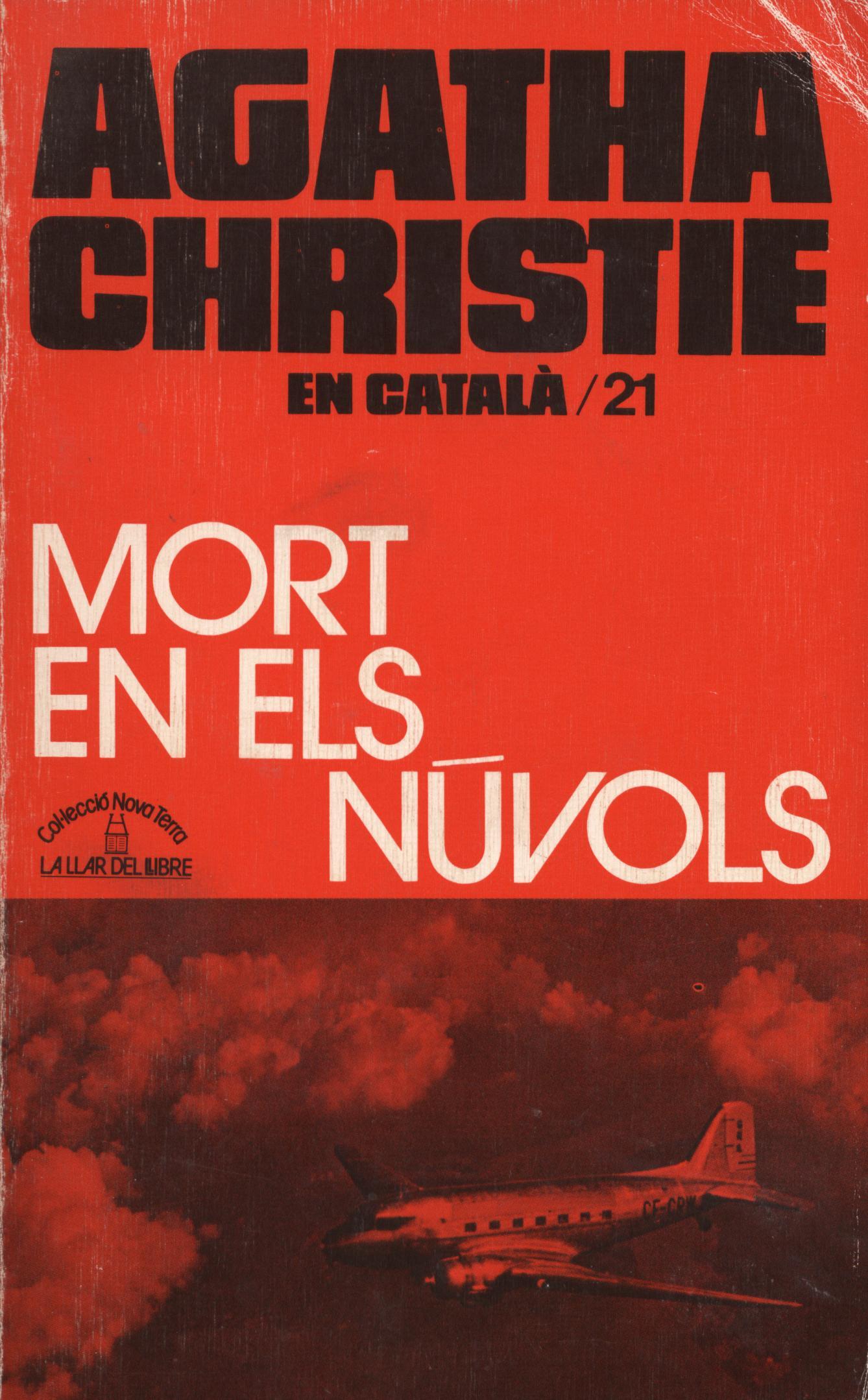 mort en els núvols - Agatha Christie