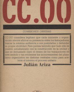Venta online de libros de ocasión como CC.OO - Julián Ariza en bratac.cat