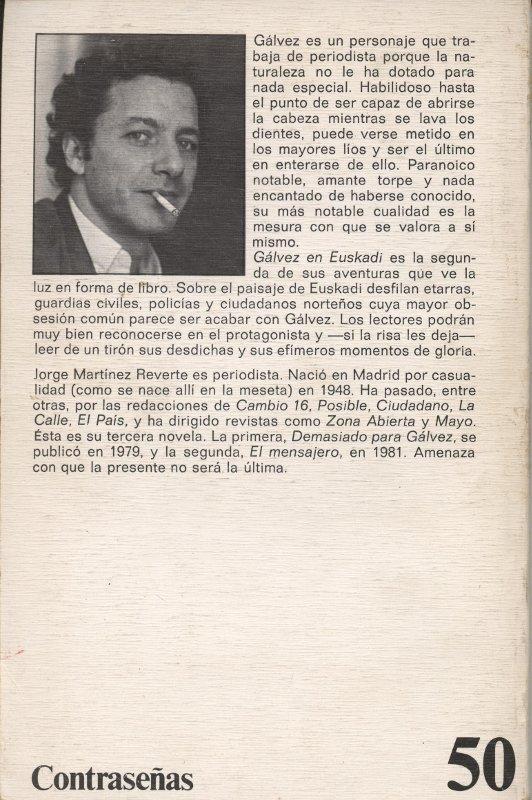 Gálvez en Euskadi - Jorge M. Reverte en bratac.cat