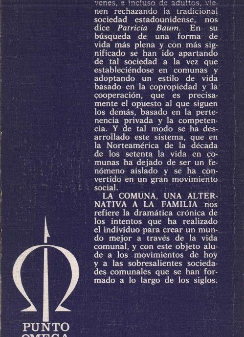 Venda online de llibres d'ocasió com La comuna, una alternativa a la familia - Patricia Baum a bratac.cat