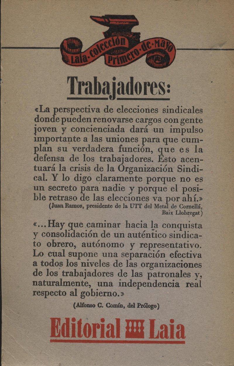Venda online de llibres d'ocasió com Las elecciones sindicales - Eduardo Martin i Jesús Salvador a bratac.cat