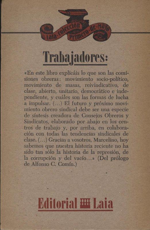 Venta online de libros de ocasión como Charlas en la prisión - Marcelino Camacho en bratac.cat