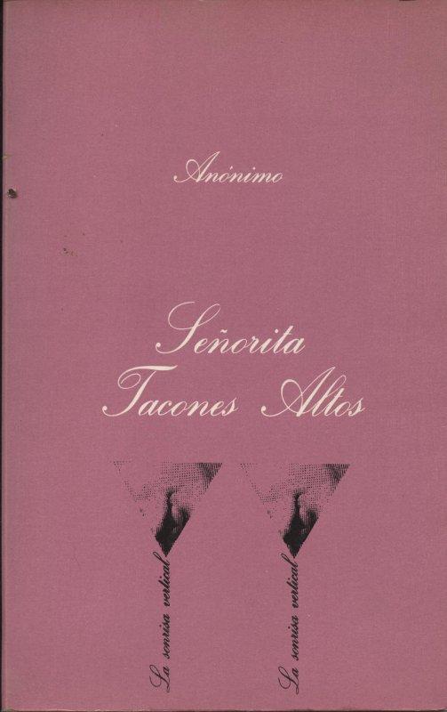 Venta online de libros eróticos de ocasión como Señorita Tacones Altos en bratac.cat