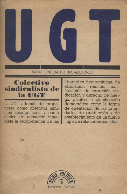Venta online de libros de ocasión como UGT en bratac.cat