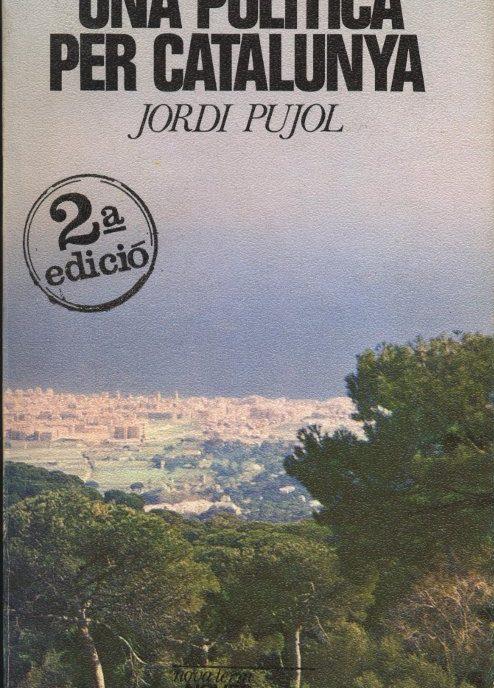 Venda online de llibres d'ocasió com Una política per Catalunya - Jordi Pujol a bratac.cat