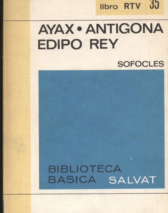 Venda online de llibres d'ocasió com Ayax - Antígona - Édipo rey a bratac.cat