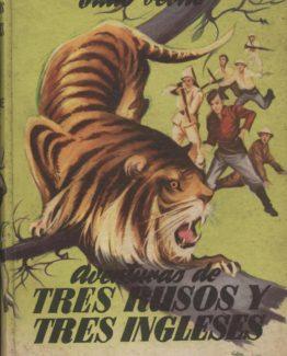 Venta online de libros de ocasión como Aventuras de tres rusos y tres ingleses - Jules Verne en bratac.cat