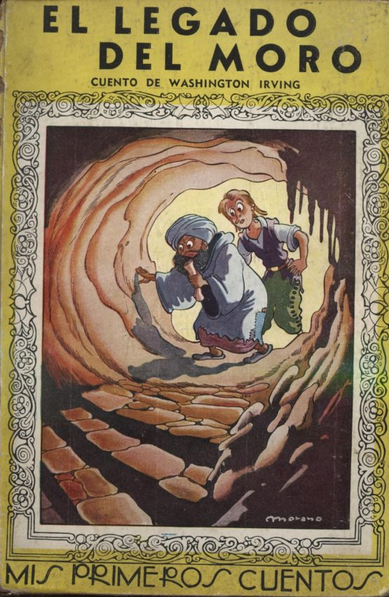 Venda online de llibres vintage com El legado del moro - Washington Irving a bratac.cat