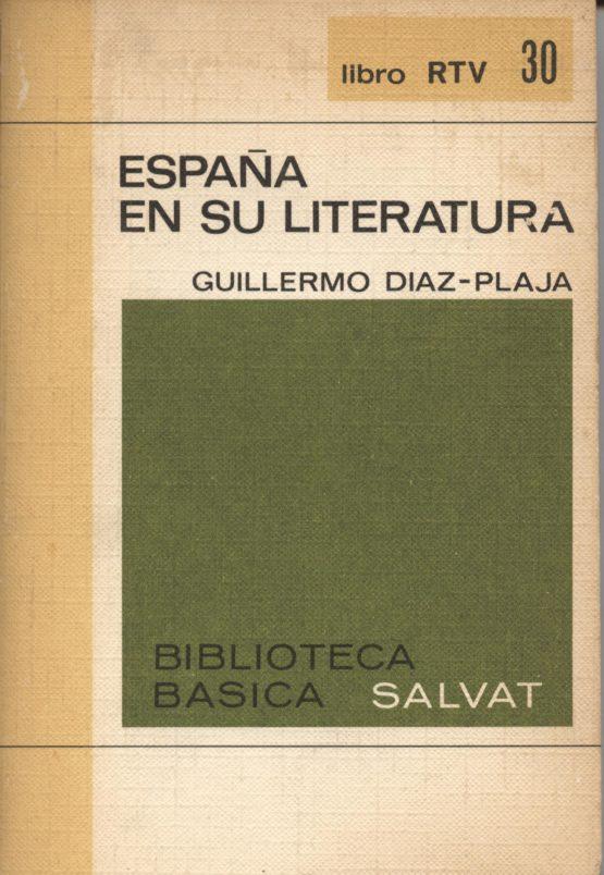 Venta online de libros de ocasión como España en su literatura - Guillermo Díaz - Plaza en bratac.cat