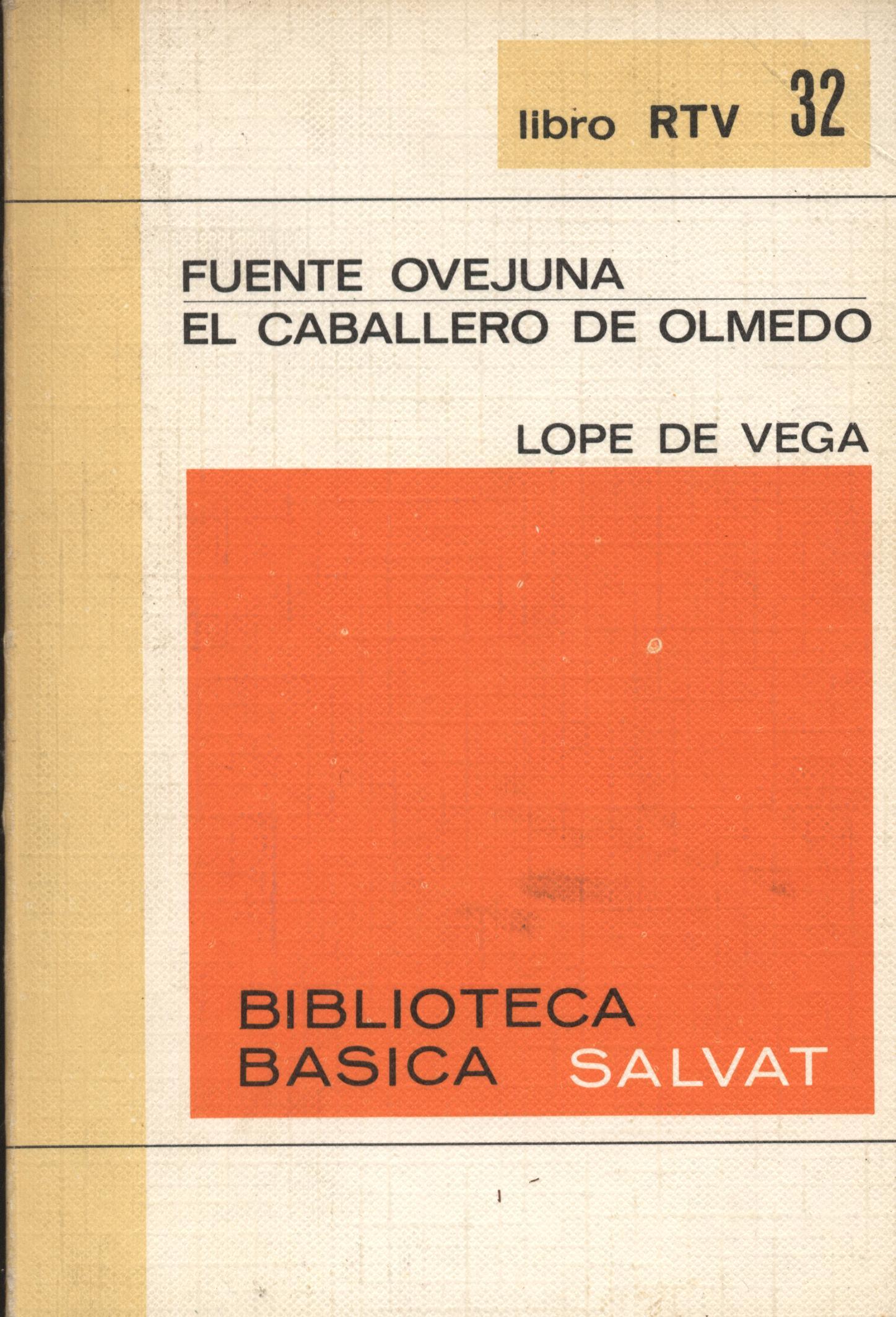 Venta online de libros de ocasión como Fuente Ovejuna y El caballero de Olmedo - Lope de Vega en bratac.cat