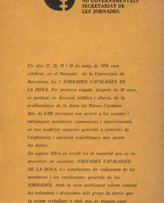 Venda online de llibres d'ocasió com Jornades catalanes de la dona 1976 a bratac.cat