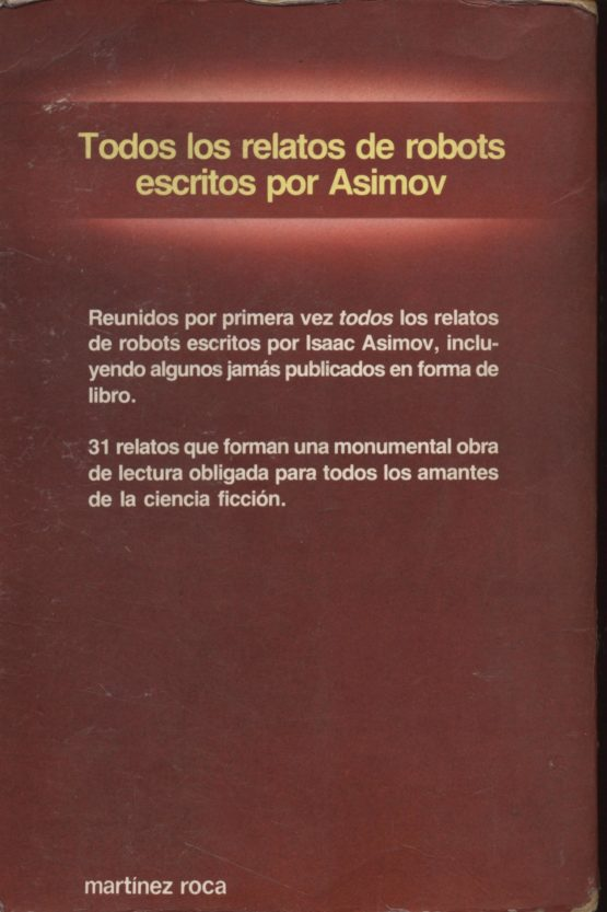 Venda online de llibres d'ocasió com Los robots - Isaac Asimov a bratac.cat
