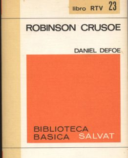 Venta online de libros de ocasión como Robinson crusoe - Daniel Defoe en bratac.cat