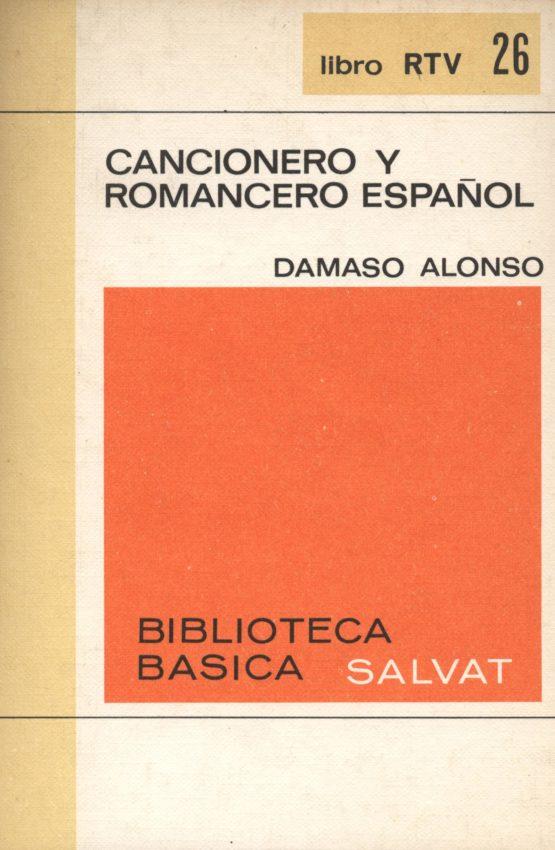 Venta online de libros de ocasión como Cancionero y romancero español - Dámaso Alonso en bratac.cat