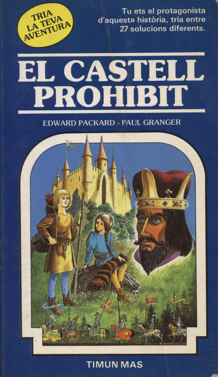 Venda online de llibres d'ocasió com El castell prohibit - Edward Packard - Paul Granger a bratac.cat