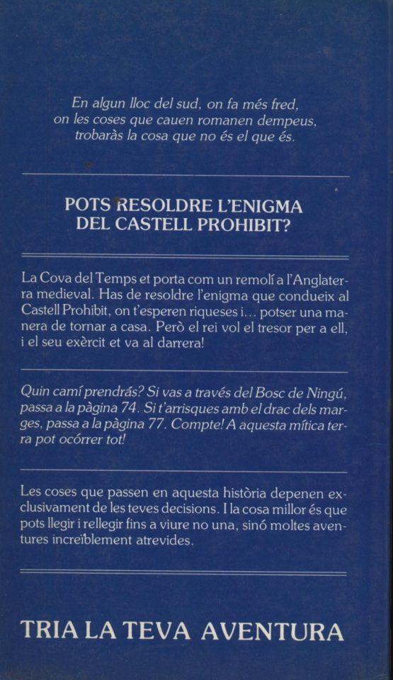 Venta online de libros de ocasión como El castell prohibit - Edward Packard y Paul Granger en bratac.cat