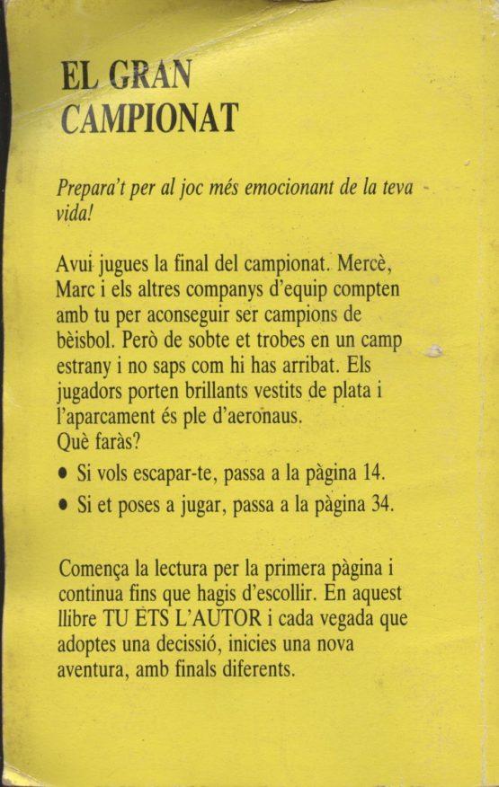 Venta online de libros de ocasión como El gran campionat en bratac.cat