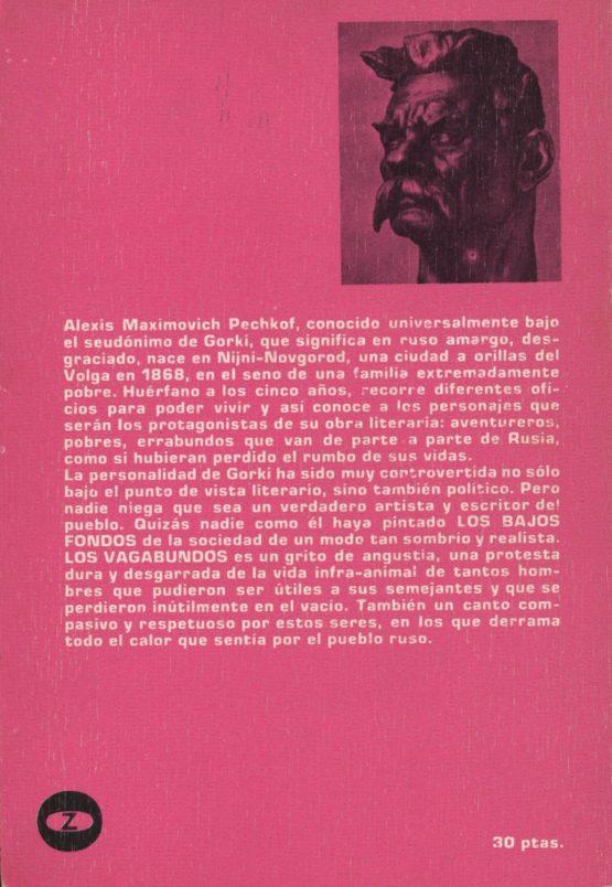 Venda online de llibres d'ocasió com Los vagabundos - Maksim Gorki a bratac.cat
