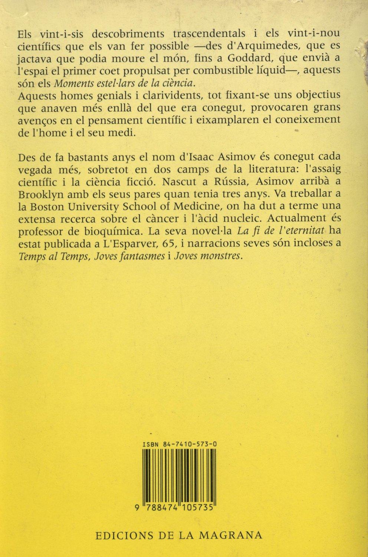 Venda online de llibres d'ocasió com Moments estel·lars de la ciència - Isaac Asimov a bratac.cat