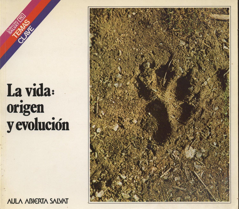 Venta online de libros de ocasión como La vida: origen y evolución - Benjamín Fernández Ruíz en bratac.cat