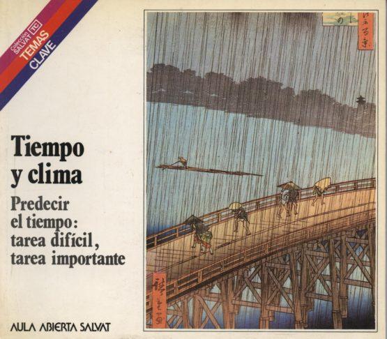 Venta online d elibros de ocasión como Tiempo y clima - Manuel Tohaira Cortés en bratac.cat