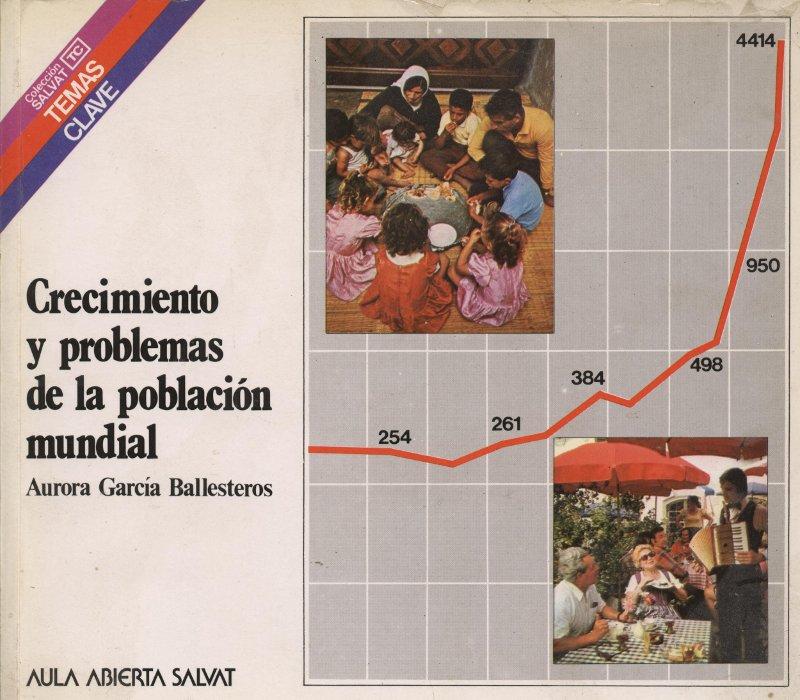 Venta online de libros de ocasión como Crecimiento y problemas de la población mundial - Aurora García Ballesteros en bratac.cat