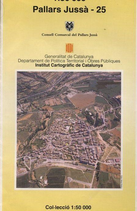 Venda online de Mapa comarcal de Catalunya - Pallars Jussà - Institut Català de Cartografia a bratac.cat
