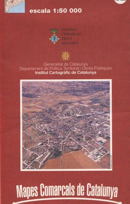 Venda online de Mapes comarcals de Catalunya - Segarra a bratac.cat