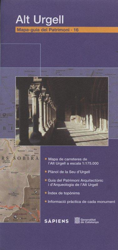 Venta online de Mapa-guia del patrimoni Alt Urgell en bratac.cat